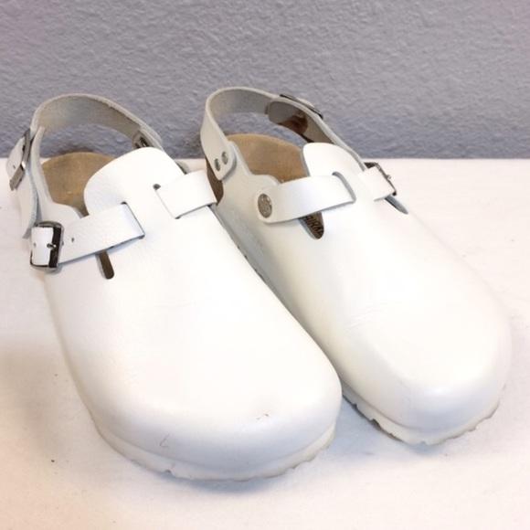 07389c00f422 Birkenstock Shoes - Birkenstock Tokyo Super Grip white clogs - 37