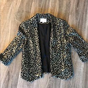Alberto Makali Jackets & Blazers - Sequin leopard blazer size Medium Alberto Makali