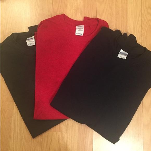 Gildan Blank T-Shirts, 3-Pack! NWT