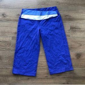lululemon athletica Pants - Lululemon Astro cropped leggings pants size 6