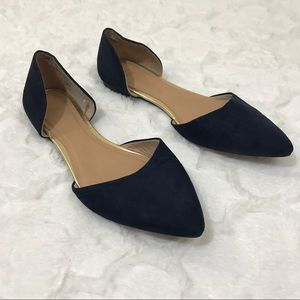 GAP Shoes - Gap navy blue pointed toe flats