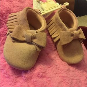 GAP Other - 🗣HP ALERT!!!! 🏆🎉💝Dusty rose baby moccasins!