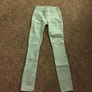 refuge Denim - Mint green Jeans