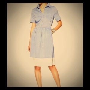 Piperlime Dresses & Skirts - Rhyme Los Angeles Chambray Shirtdress LIKE NEW