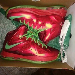 Nike Other - Christmas lebron 10