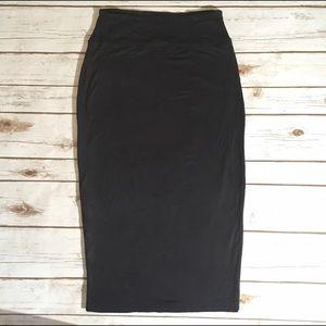 Leith Dresses & Skirts - Leith stretchy black pencil skirt