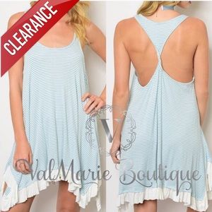 CLEARANCE Sleeveless Handkerchief Dress