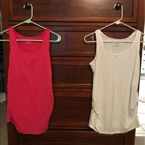 Maternity tank tops - soft and comfy