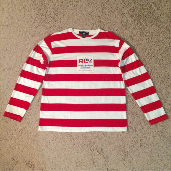 Polo Striped T Ralph Vintage Lauren Sport Shirt v0Oym8wPNn