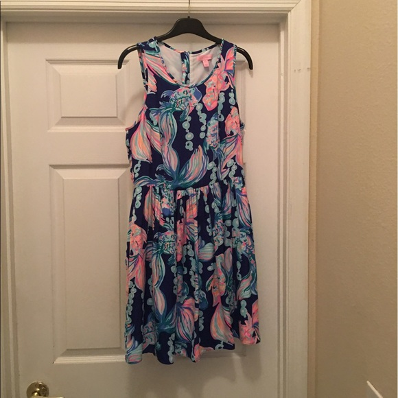 8eed2cb8eb38bc Lilly Pulitzer Dresses & Skirts - Lilly Pulitzer Kassia dress in Going  Coastal