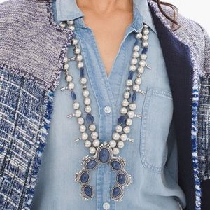 Jewelry - Stunning Squash Blossom Statement Necklace