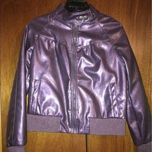 Lipstick Boutique Jackets & Blazers - 🚨 SALE Lipstick Boutique purple motorcycle jacket