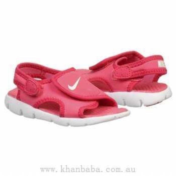 c566056c3acb Nike girls pink Sunray Adjust Sandals NIB