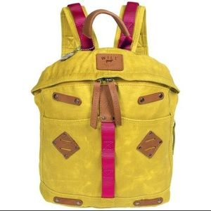 Will Leather Goods Handbags - Will Leather Goods small yellow backpack
