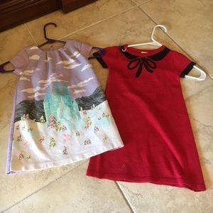 Osh Kosh Other - OshKosh castle dress, and red simple sweater dress