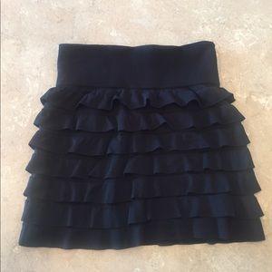 soho girls Dresses & Skirts - Ruffle black skirt