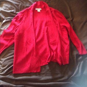 Liz Claiborne Other - Ladies Red Cardigan Jacket