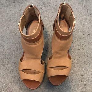 Bar III Shoes - Brown wedges