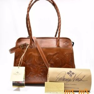 Patricia Nash Handbags - NWT Patricia Nash Satchel Italian leather Handbag