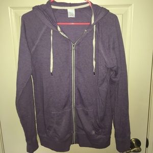 Purple Zip up Jacket