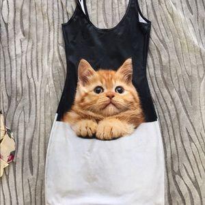 Blackmilk Dresses & Skirts - Black milk pussy cat dress sz small