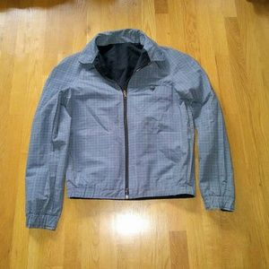 APC Other - Apc Cotton casual reversable grey navy blue jacket