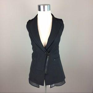 Kenneth Cole long career blazer vest
