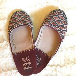 Billabong Shoes - Billabong beaded sandal! Size 8