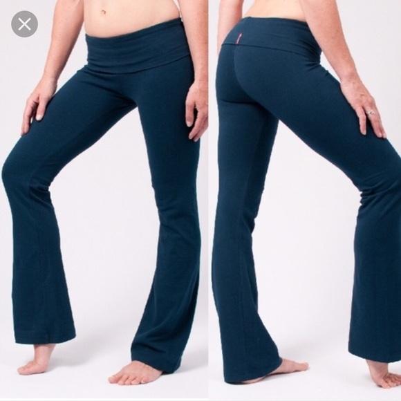 Hard Tail Blue Wide Leg Yoga