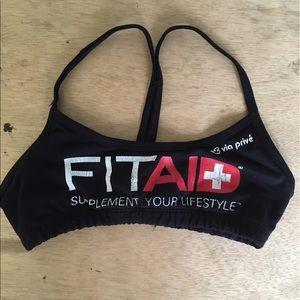 Via Prive Other - FiTAID logo sports bra
