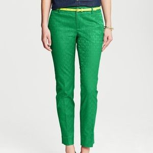 Banana Republic Pants - Banana Republic emerald green Hampton ankle pant
