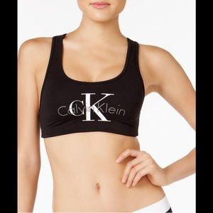 Calvin Klein Black Bralette New!