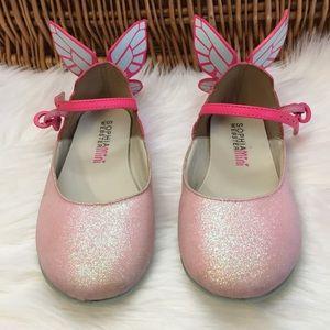 Sophia Webster Other - Sophia Webster Mini Chiara Pink Glitter Shoes sz28