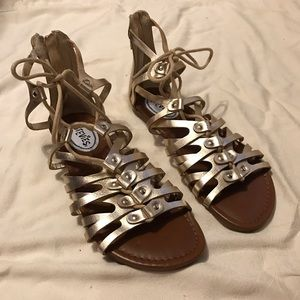 Stevies Shoes - Gold Sandals