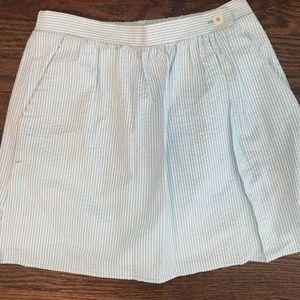 Lilly Pulitzer seersucker skirt