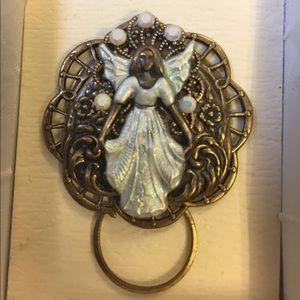 Jewelry   Angel Eyeglass Holder Pin