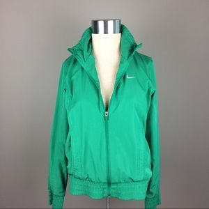 Nike the Athletic Dept green jacket