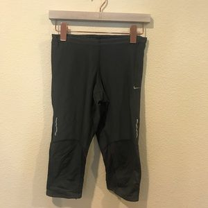 Nike Dri Fit black mesh leggings