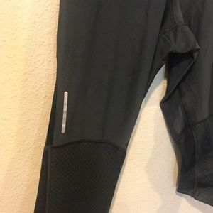 Nike Pants - Nike Dri Fit black mesh leggings