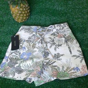 Brand new Zara tropic 100%cotton shorts