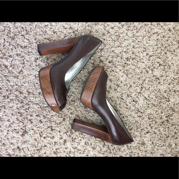 Gianni Bini Peep Toe Shoes