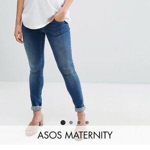 Denim - Asos maternity sz 4