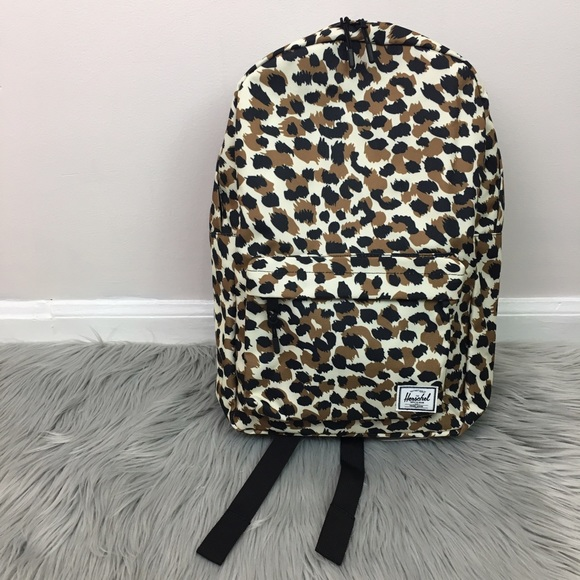 NWT Herschel Classic leopard Backpack for UO d1ae885467529