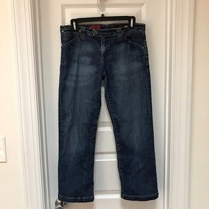 AG Adriano Goldschmied Cropped Denim Pants