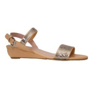 Stuart Weitzman Shoes - Stuart Weitzman Romulus silver nail sandals