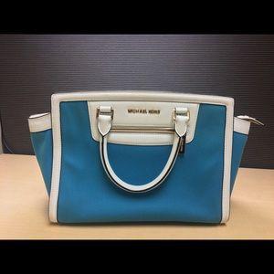 Michael Kors Handbags - Summer blue large Selma Michael Kors Bag