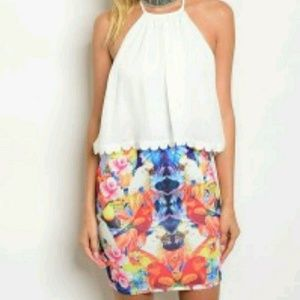 Halter summer dress