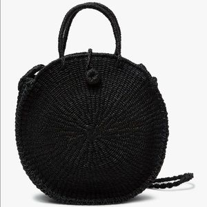 Reformation Handbags - NWT! Ticao Woven Circle Bag by Abaca