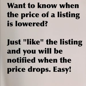 Other - Get Notified When Prices Drop!