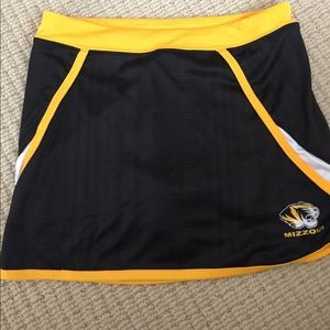Other - Cute University of Missouri girls tennis skirt